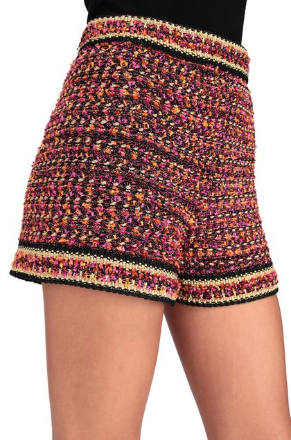 M MISSONI Shorts Fuchsia Woman - Front