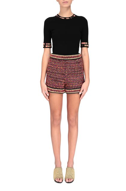 M MISSONI Shorts Fuchsia Woman - Back