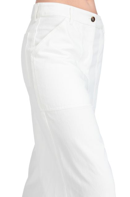M MISSONI Trouser White Woman - Front