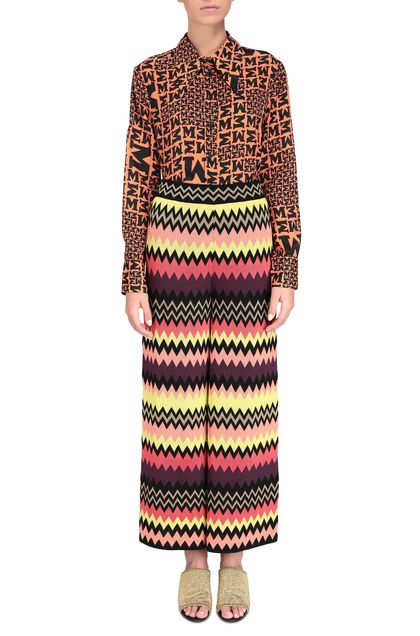 M MISSONI Pants Black Woman - Back