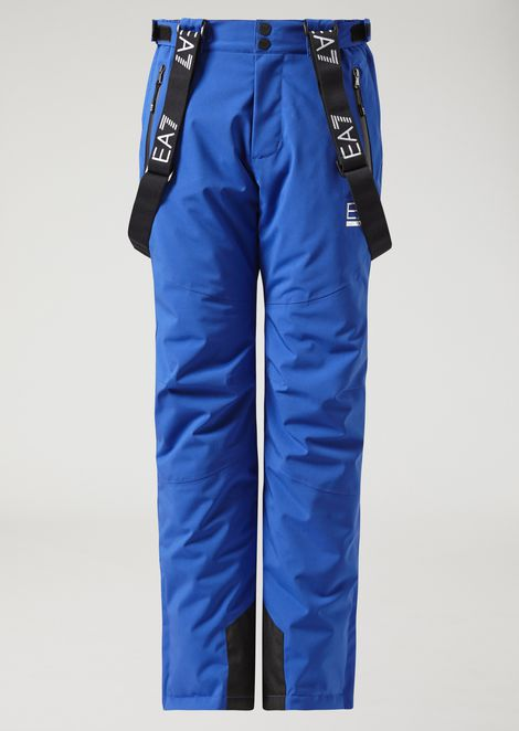 Padded technical ski trousers
