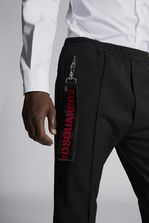 DSQUARED2 Wool Cady Jogging Pants Брюки Для Мужчин