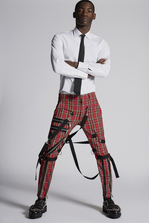 DSQUARED2 Medium Check Bondage Pants 裤装 男士