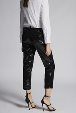 DSQUARED2 Sequined Emmalynn Hockney Pants Trousers Woman