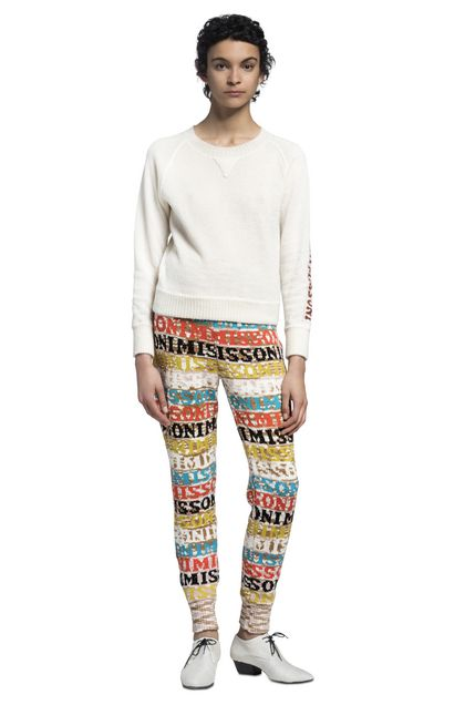 MISSONI Trouser White Woman - Front