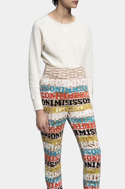 MISSONI Pants White Woman - Back