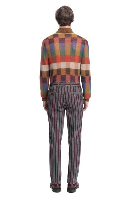 MISSONI Pants Maroon Man - Front