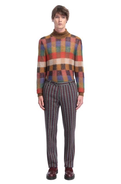 MISSONI Pantaloni Bordeaux Uomo - Retro