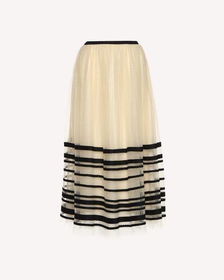 REDValentino Skirt Woman QR0RA03F43Q 0AN a