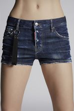 DSQUARED2 Blu Cadet Cool Girl Shorts Shorts Woman