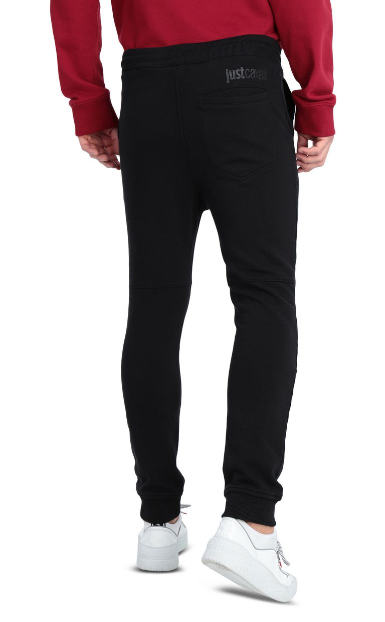 JUST CAVALLI Track trousers with logo Casual pants [*** pickupInStoreShippingNotGuaranteed_info ***] r