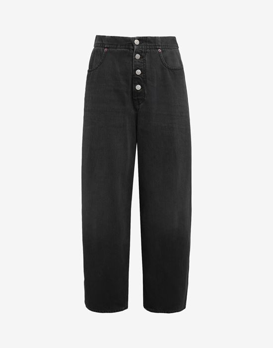 MM6 MAISON MARGIELA High-rise denim pants Jeans [*** pickupInStoreShipping_info ***] f