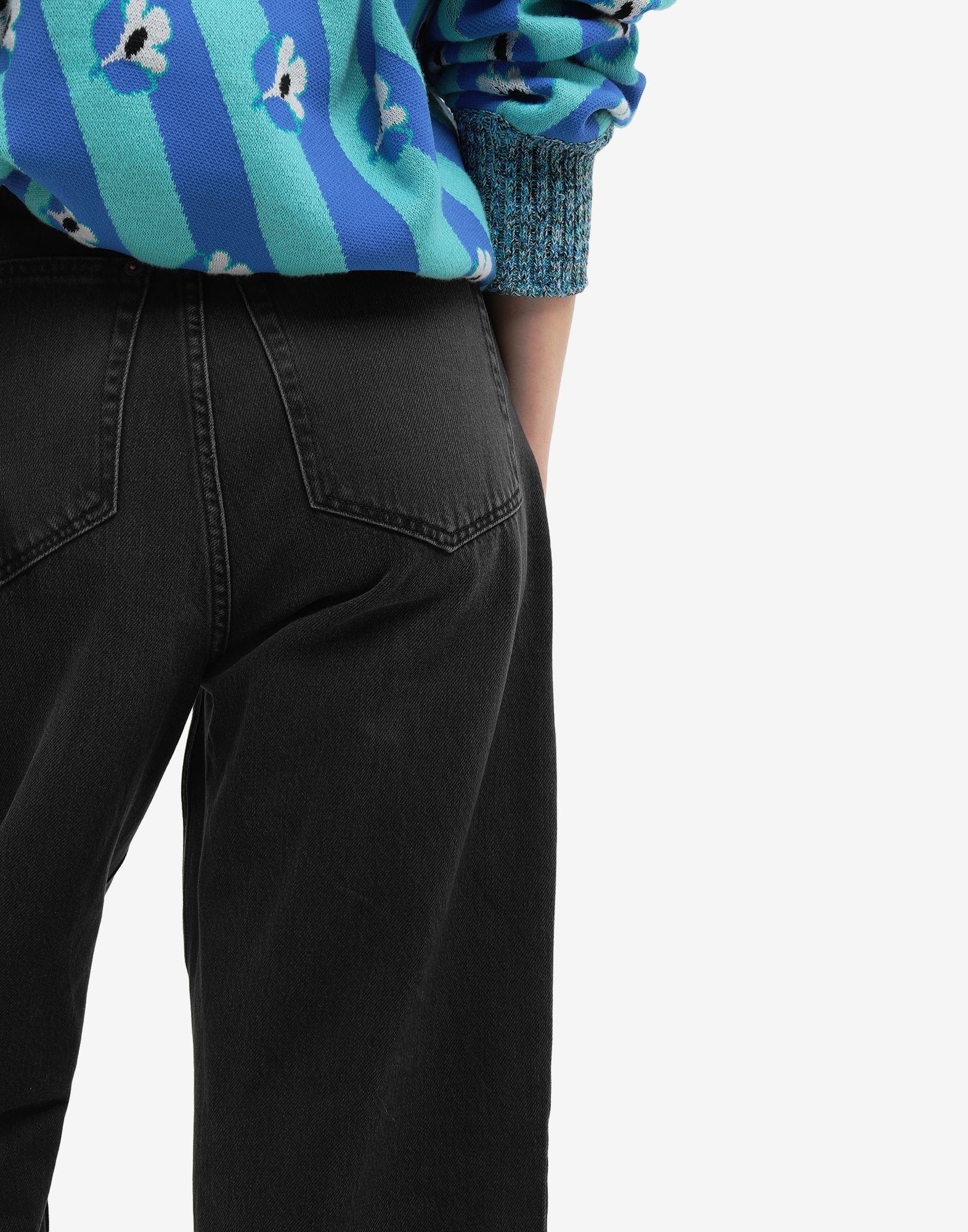 MM6 MAISON MARGIELA Jean taille haute Pantalon en jean Femme b