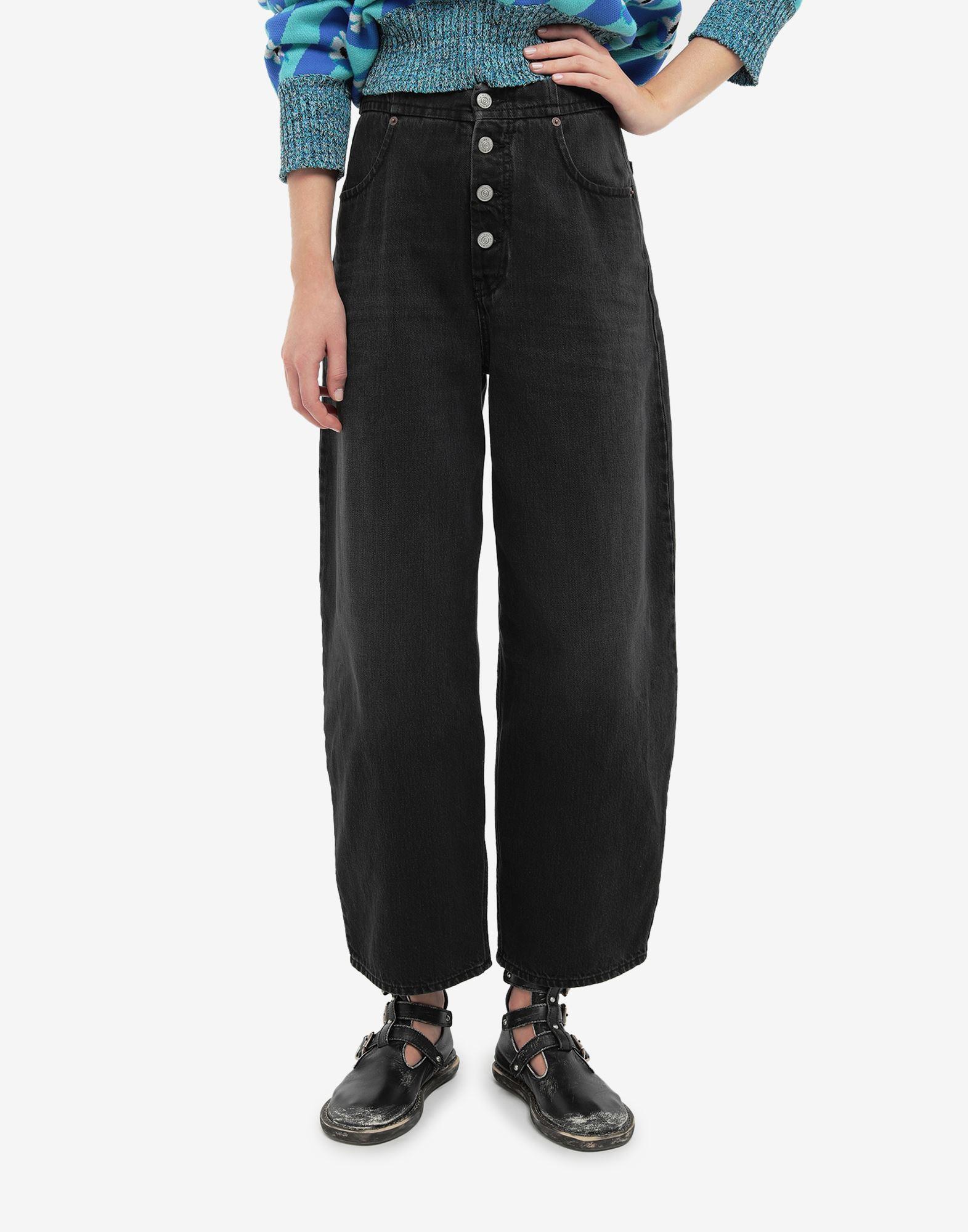 MM6 MAISON MARGIELA Jean taille haute Pantalon en jean Femme r