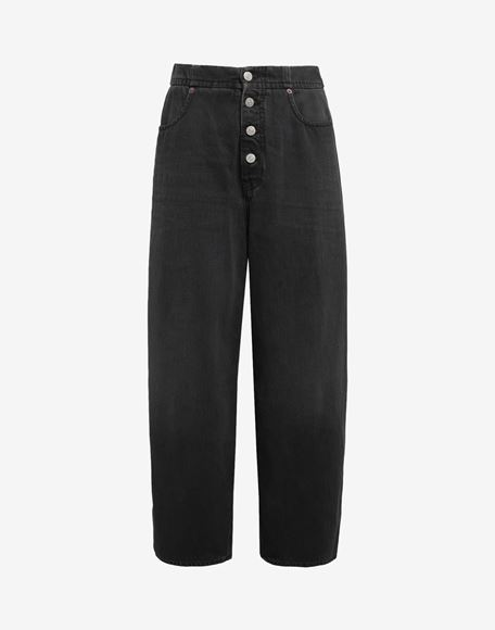 MM6 MAISON MARGIELA Jean taille haute Pantalon en jean Femme f