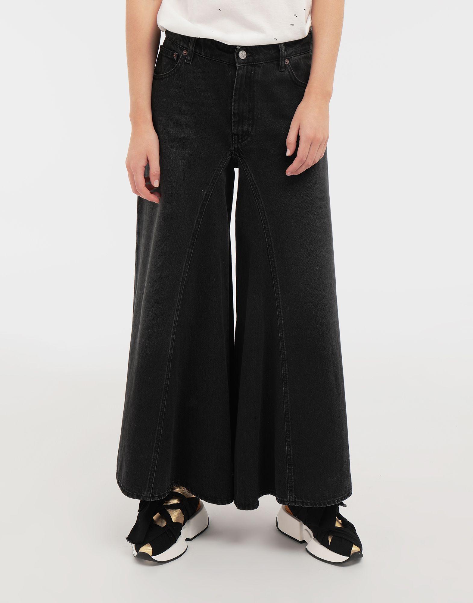 MM6 MAISON MARGIELA Flared denim pants Jeans Woman r