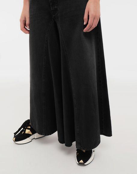 MM6 MAISON MARGIELA Flared denim pants Jeans Woman a