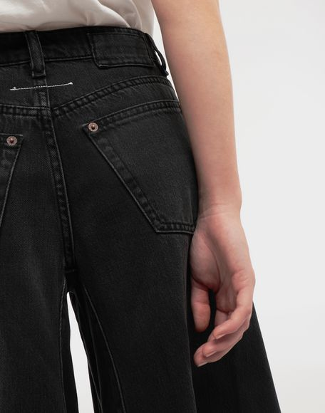 MM6 MAISON MARGIELA Flared denim pants Jeans Woman b