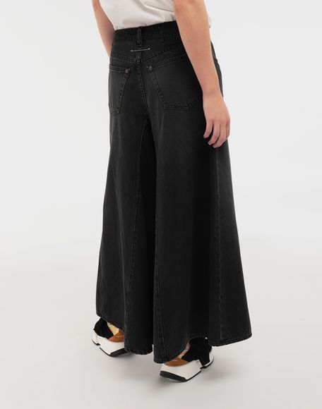 MM6 MAISON MARGIELA Flared denim pants Jeans Woman e