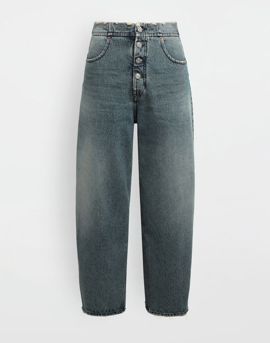 MM6 MAISON MARGIELA High-rise denim pants Jeans [*** pickupInStoreShipping_info ***] f