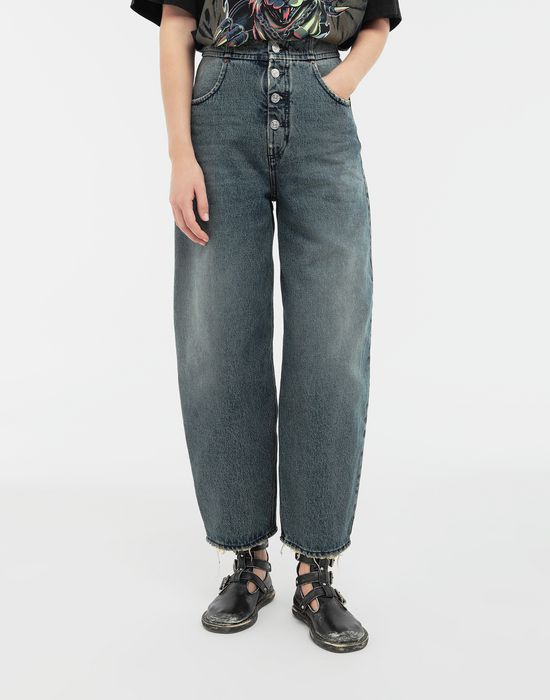 MM6 MAISON MARGIELA High-rise denim pants Jeans [*** pickupInStoreShipping_info ***] r