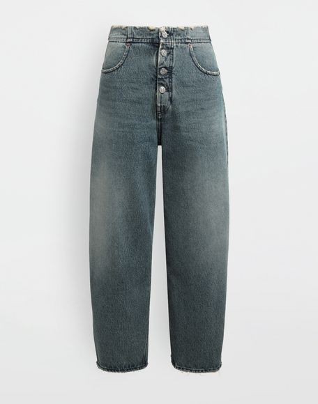 MM6 MAISON MARGIELA High-rise denim pants Jeans Woman f