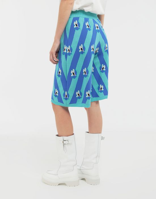 MM6 MAISON MARGIELA Floral-print jacquard pants Bermuda [*** pickupInStoreShipping_info ***] e