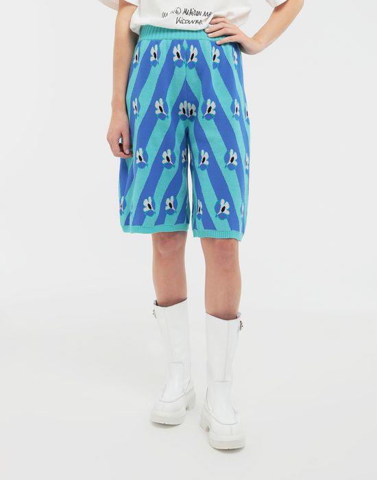 MM6 MAISON MARGIELA Floral-print jacquard pants Bermuda [*** pickupInStoreShipping_info ***] r