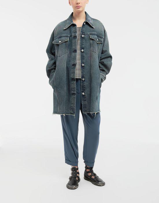 MM6 MAISON MARGIELA Wide-leg tapered pants Formal trousers [*** pickupInStoreShipping_info ***] d