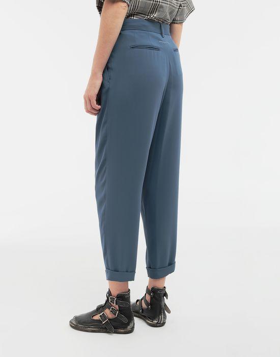 MM6 MAISON MARGIELA Wide-leg tapered pants Formal trousers [*** pickupInStoreShipping_info ***] e