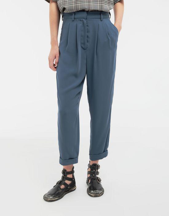 MM6 MAISON MARGIELA Wide-leg tapered pants Formal trousers [*** pickupInStoreShipping_info ***] r