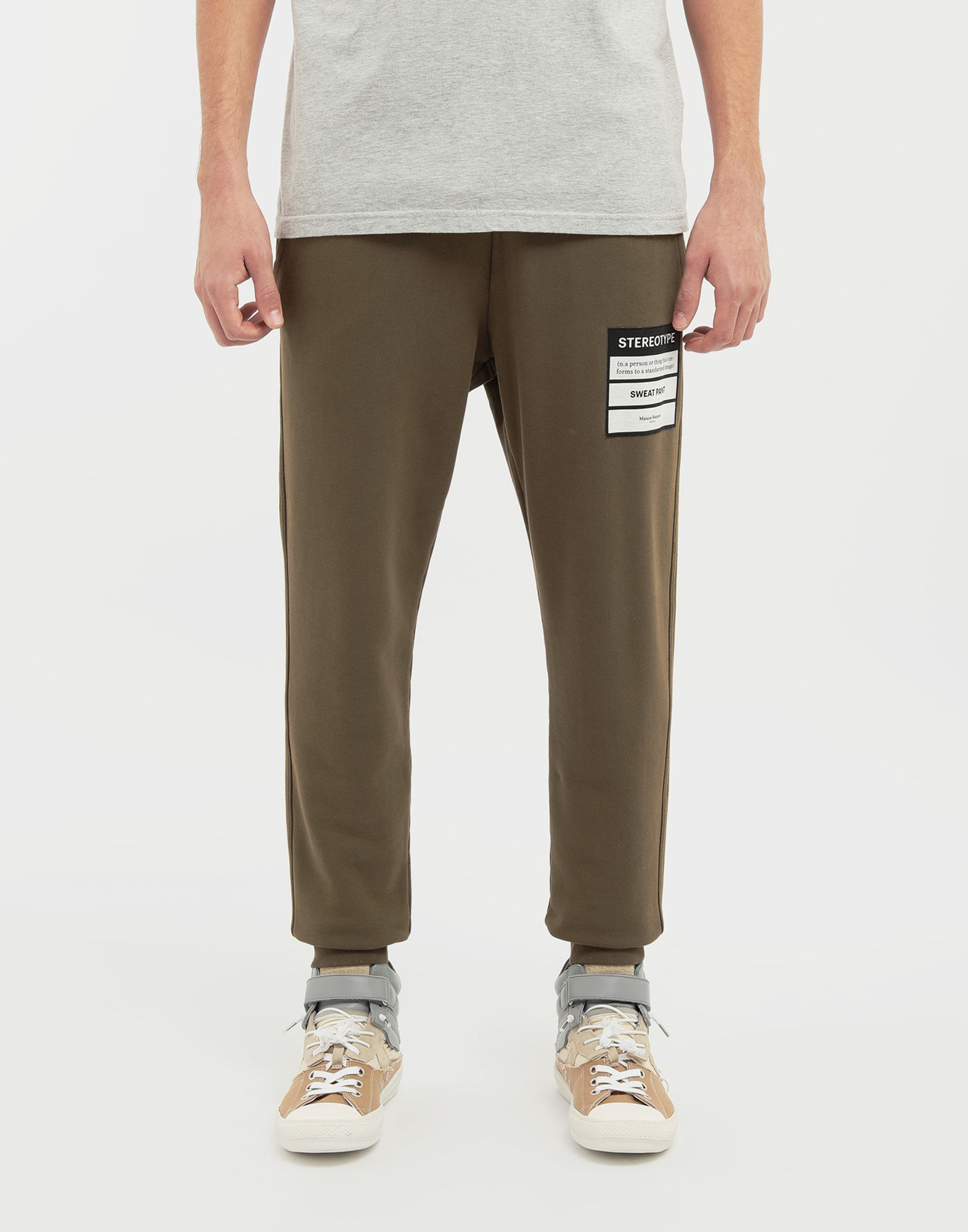 MAISON MARGIELA Stereotype jogging pants Casual pants Man r