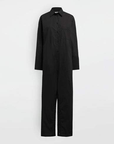 MM6 MAISON MARGIELA Jumpsuit [*** pickupInStoreShipping_info ***] Parachute poplin jumpsuit f