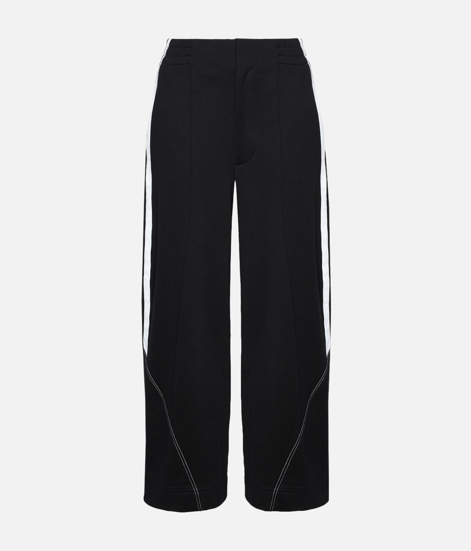 Y-3 Y-3 Wide 3/4 Pants Fleece-Hose Damen f