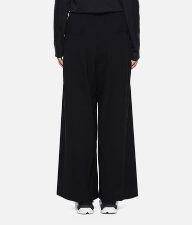 Y-3 Casual trouser Woman Y-3 Light Wide Pants r