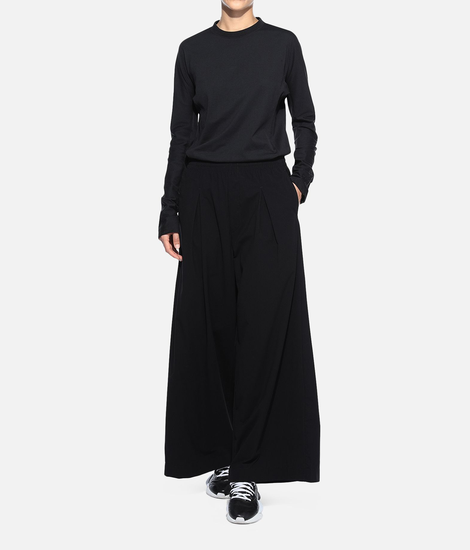 Y-3 Y-3 Light Wide Pants Casual pants Woman a