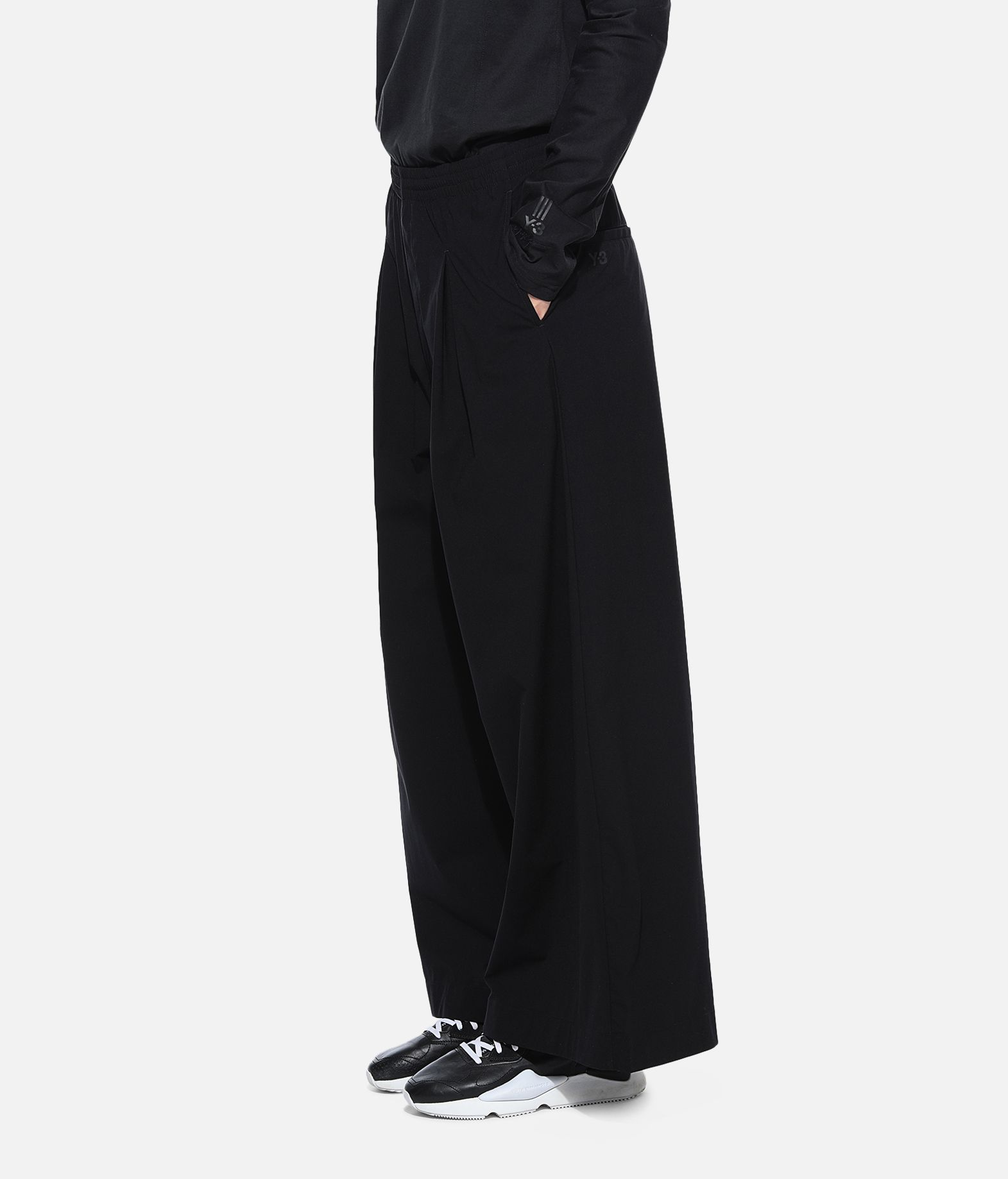 Y-3 Y-3 Light Wide Pants Casual trouser Woman e