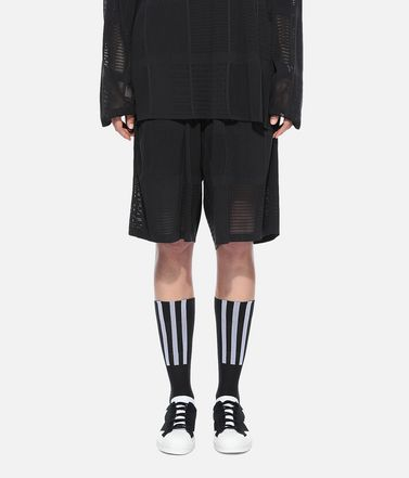Y-3 Bermuda Woman Y-3 Patchwork Shorts r