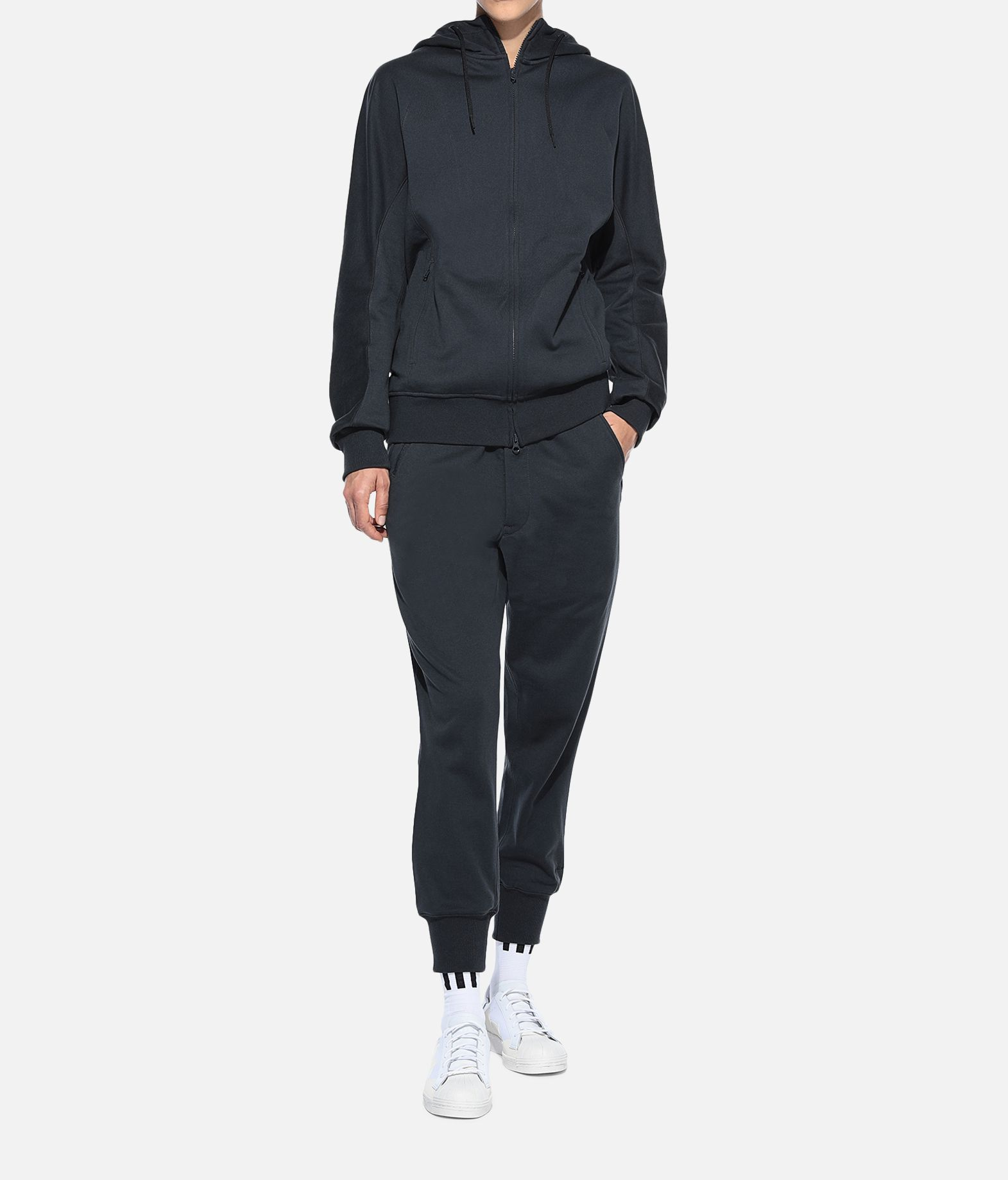 Y-3 Y-3 Classic Cuffed Pants Fleece-Hose Damen a