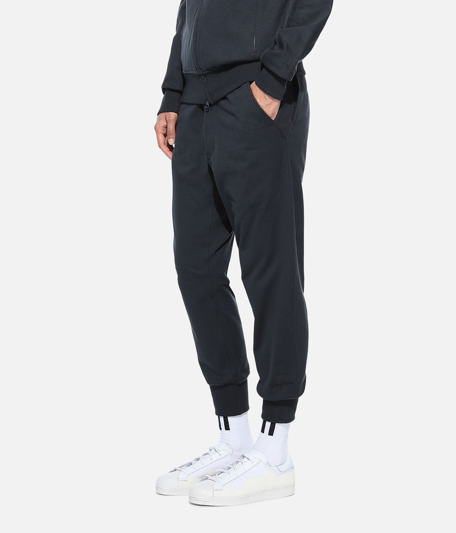 Y-3 Y-3 Classic Cuffed Pants Fleece-Hose Damen e