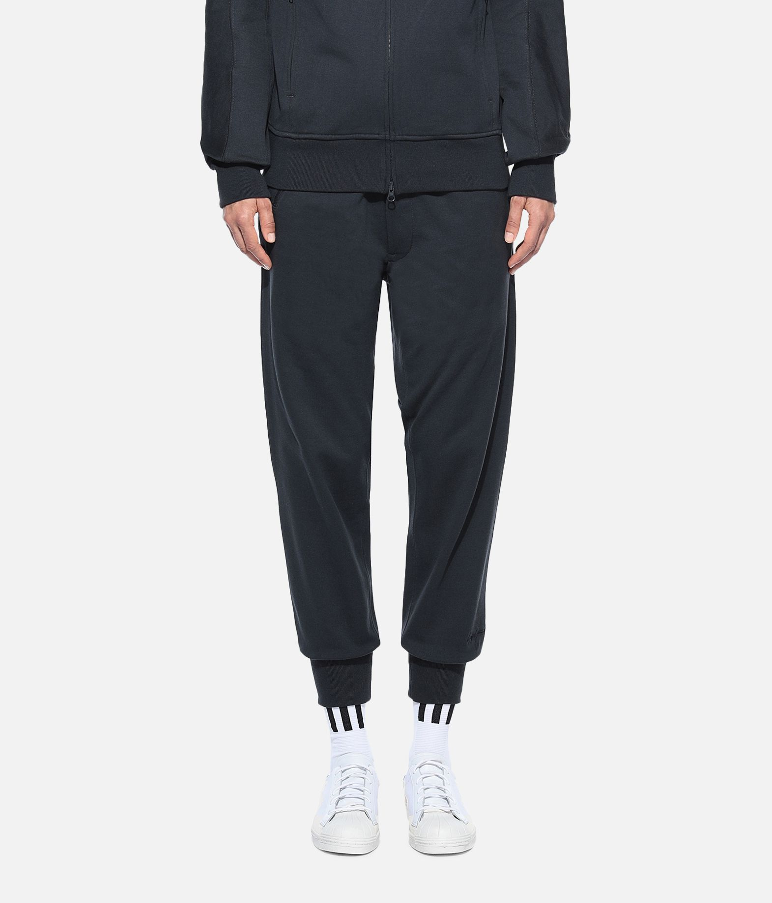 Y-3 Y-3 Classic Cuffed Pants Fleece-Hose Damen r