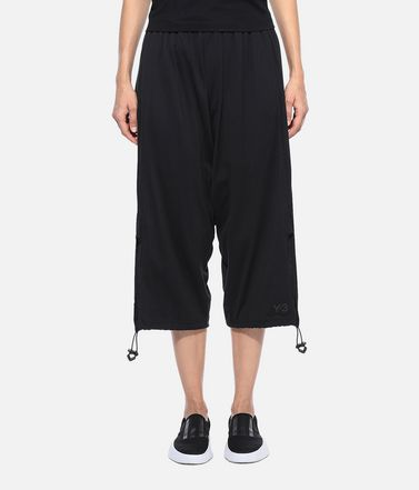 Y-3 Cropped pant Woman Y-3 Drawstring 3/4 Pants  r