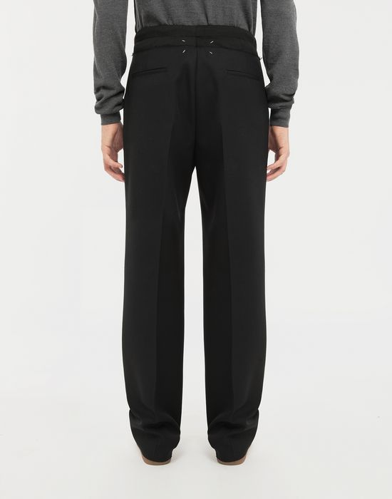 MAISON MARGIELA Spliced waistband pants Trousers [*** pickupInStoreShippingNotGuaranteed_info ***] e