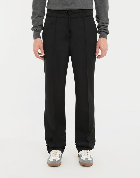 MAISON MARGIELA Spliced waistband pants Trousers [*** pickupInStoreShippingNotGuaranteed_info ***] r