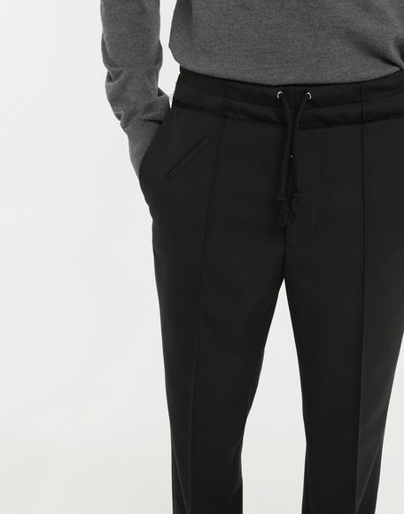 MAISON MARGIELA Spliced waistband pants Casual pants Man a