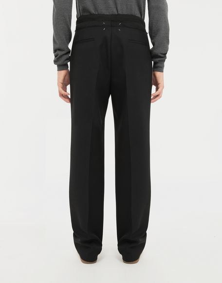MAISON MARGIELA Spliced waistband pants Casual pants Man e