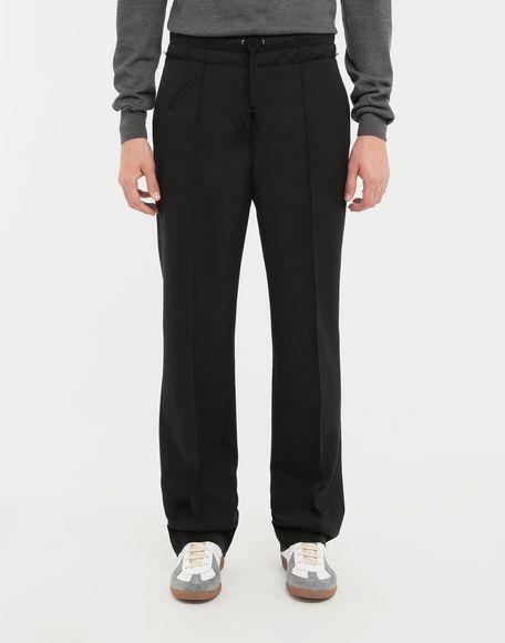 MAISON MARGIELA Spliced waistband pants Casual pants Man r