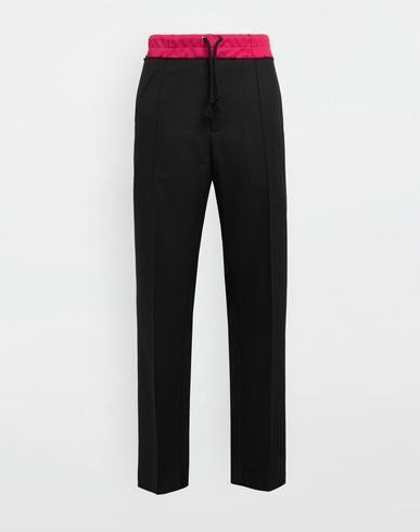 MAISON MARGIELA Trousers [*** pickupInStoreShippingNotGuaranteed_info ***] Spliced waistband pants f