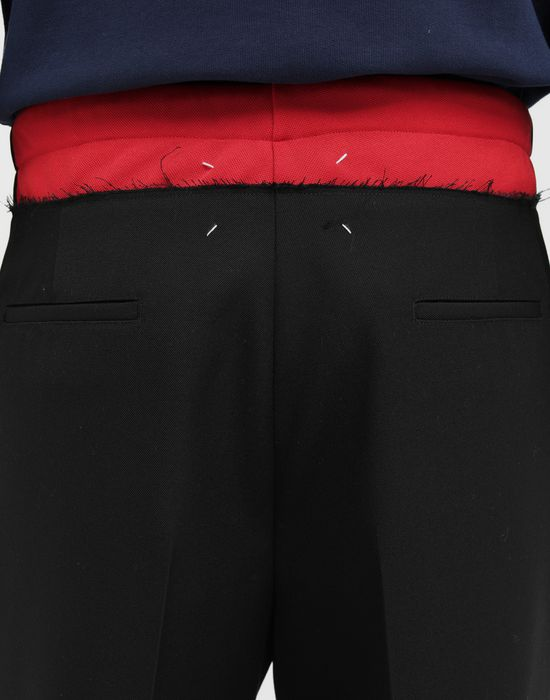 MAISON MARGIELA Spliced waistband pants Casual pants [*** pickupInStoreShippingNotGuaranteed_info ***] b