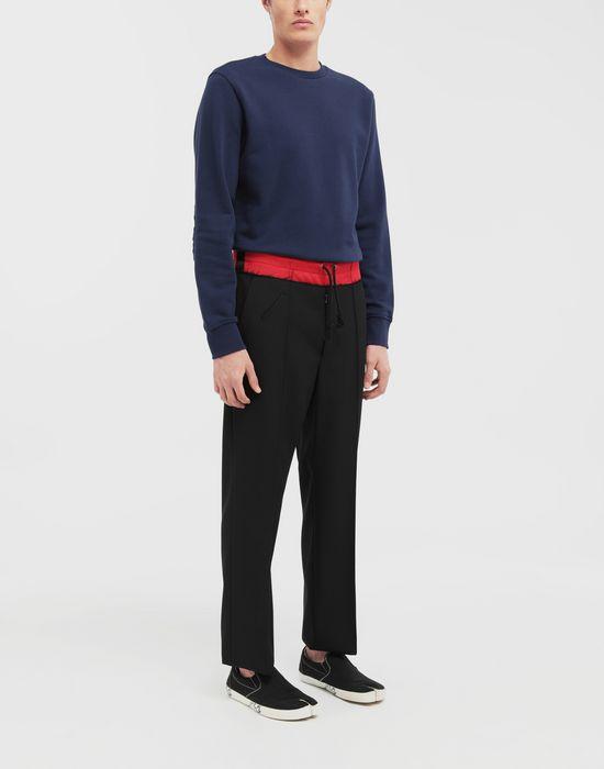 MAISON MARGIELA Spliced waistband pants Casual pants [*** pickupInStoreShippingNotGuaranteed_info ***] d